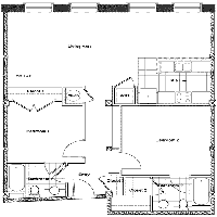 Southern Stove Lofts apartment floorplans