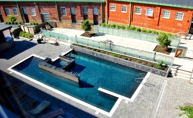 Southern Stove Lofts swimming pool